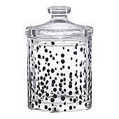 Linea Mono Mark Glass Jar