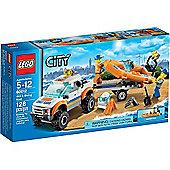 Lego City Coast Guard '4X4 & Diving Boat 60012