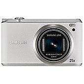 "Samsung WB350F Smart Digital Camera, White, 16.3MP, 21x Optical Zoom, 3"" LCD Screen, WiFi"