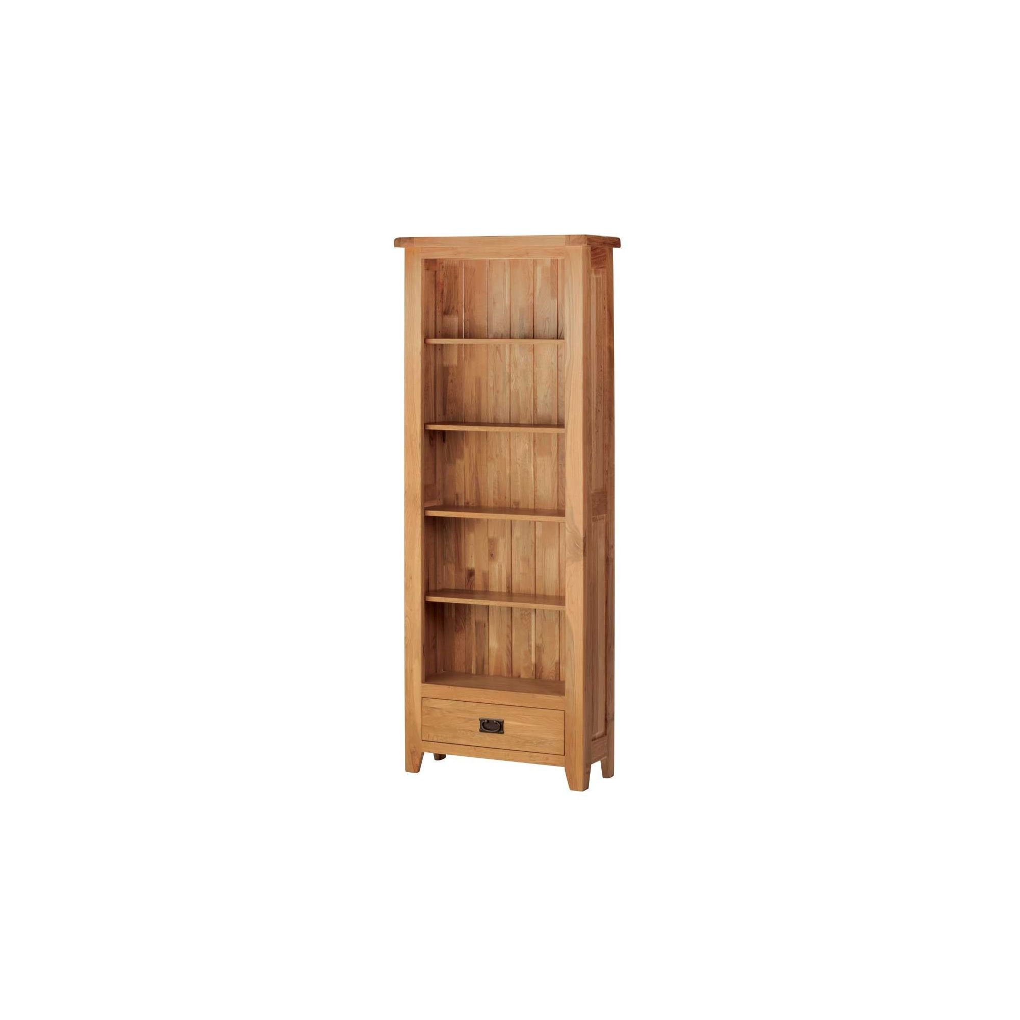 Thorndon Sandown Large Bookcase in Rustic Oak at Tescos Direct
