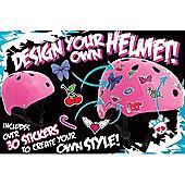 SFR Essentials Pink Sticker Helmet