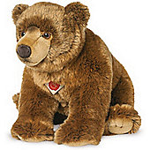 Teddy Hermann 50cm Brown Bear Plush Soft Toy