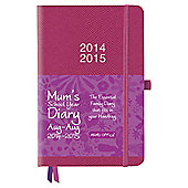 Mums School Year Diary, Pink