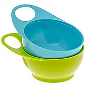 Brother Max 2 Easy-Hold Bowls (Blue/Green)