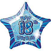 18th 20' Star Foil Balloon (each)