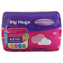 Slumberdown Double Duvet 4.5 Tog - Big Hugs