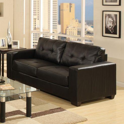 Furniture Link Gemona 3 Seater Sofa - Brown