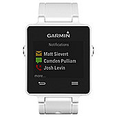 Garmin Vivoactive Activity Tracking GPS Smartwatch w/ HRM, White