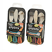 Tommee Tippee Explora First Grown Cutlery Set Green