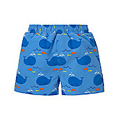 Mothercare Baby Boy's Whale Swim Nappy Shorts Size 6-9 months
