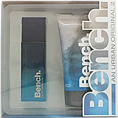 Bench Urban Original Gents Gift Set 100ml EDT + 175ml Shower Gel For Men