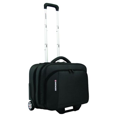 Wenger Executive Rolling Office Wheeled Business Case, Black 17