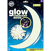 Brainstorm Toys Glow Crescent Moon and Stars