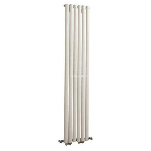 Hudson Reed Revive Single Panel Vertical Designer Radiator White 1800mm High x 354mm Wide