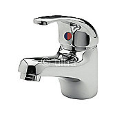 Ultra Eon Eco Click Single Lever Mono Basin Mixer in Chrome