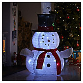 3ft Light Up Collapsible Snowman Christmas Light
