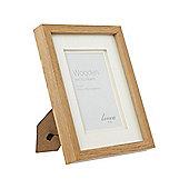 Linea Pale Wood Photo Frame 4 X 6