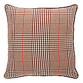 F&F Home Prince Of Wales Check Cushion