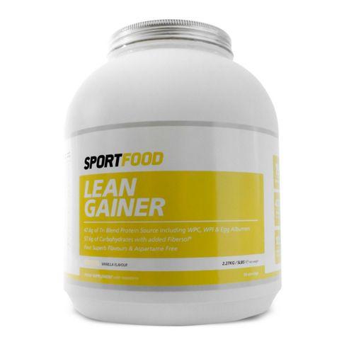 Sportfood Lean Gainer 2.27kg - Vanilla