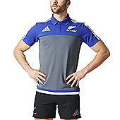 adidas New Zealand All Blacks Polo 2016 - Onix - Grey