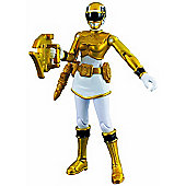 Power Rangers Megaforce 10cm Metallic Force Figure - Yellow Ranger