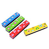 Bigjigs Toys BJ191 Snazzy Harmonica (One Supplied - Designs Vary)