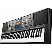 Yamaha PSRE333 Electronic Keyboard 61 full-size touch sensitive keys Black