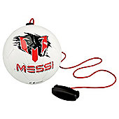 Outdoor Football Messi Training Ball (White)