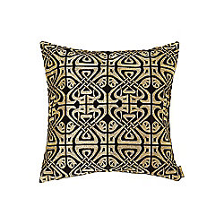 Black Velvet Biba Design Cushion