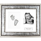 3D Baby Casting Kit - Urban Silver Frame - Silver Paint