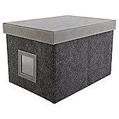 Felt Storage Box Large With Lid