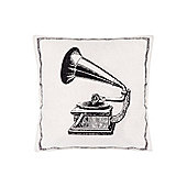 Linea Gramophone Icon Cushion