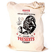 Star Wars Personlised Santa Sack
