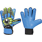 Uhlsport Eliminator Starter Soft Junior Goalkeeper Gloves - Blue