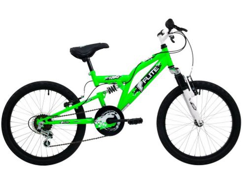 Flite Turbo Boys Dual Suspension 6 Speed Bike