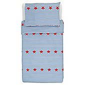 Tesco Toddler Duvet Set- Star