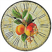 Smith & Taylor Chic Apricots Wall Clock