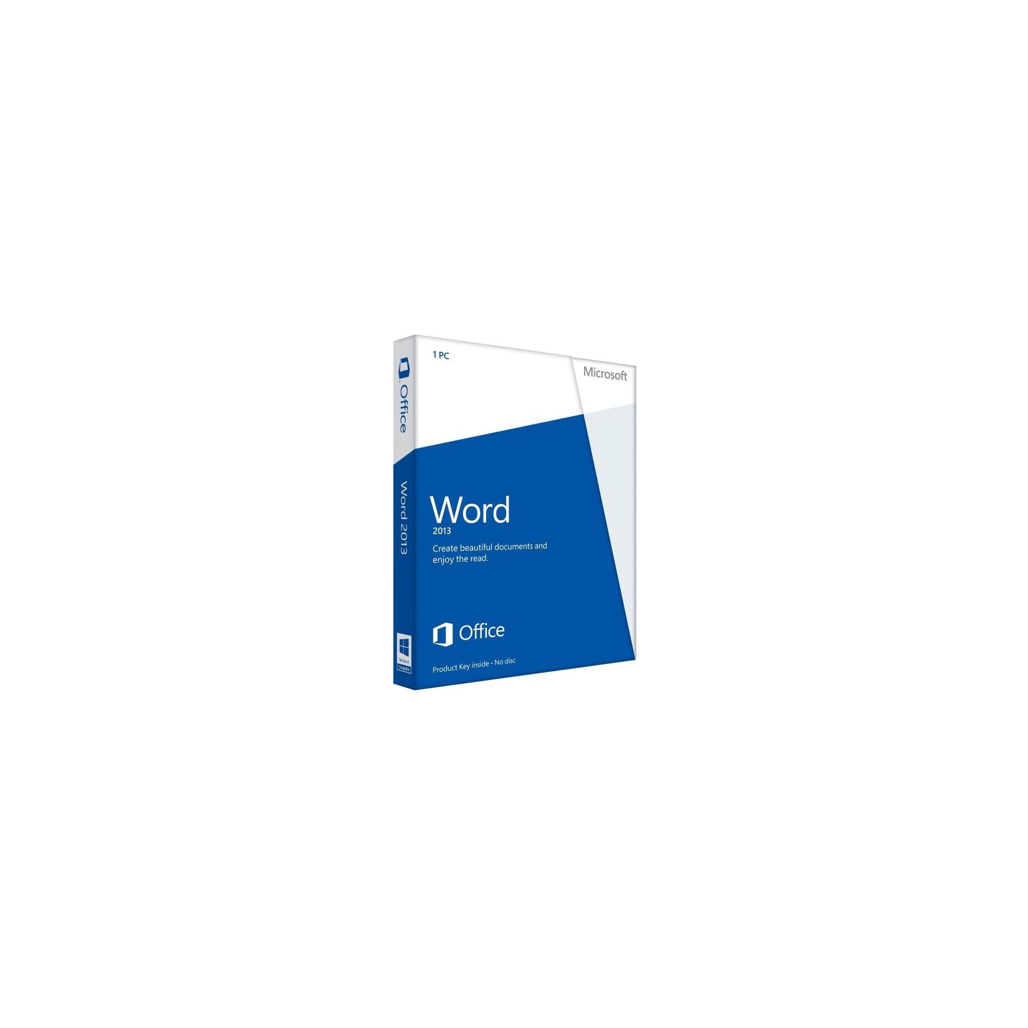 Offerta: Microsoft Word 059-08400 2013 32-Bit/x64 (English) Medialess Non-Commercial