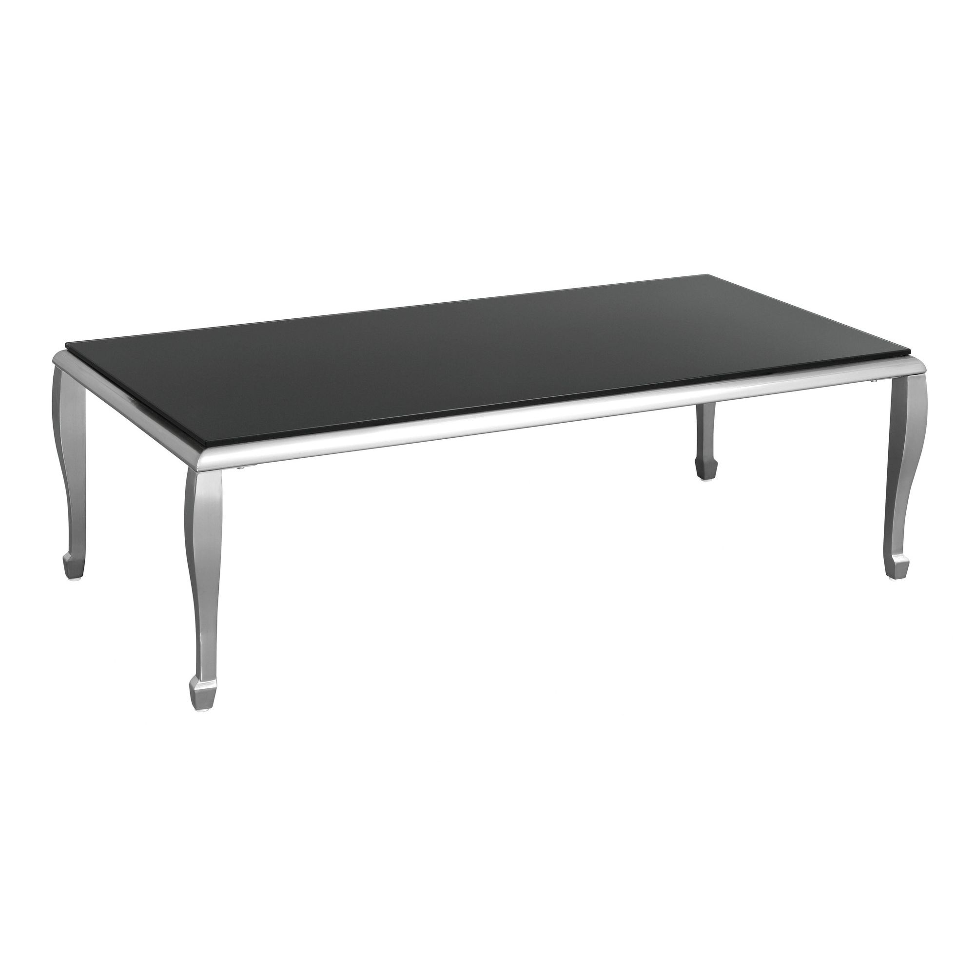 Premier Housewares Coffee Table with Nickel Plated Legs at Tescos Direct