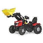 Massey Ferguson 8650 Tractor With Frontloader