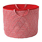 Toy Storage Basket - Red