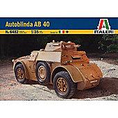Autoblinda AB40 - 1:35 Scale - 6482 - Italeri