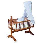 PreciousLittleOne 3pc Crib Set (Blue)