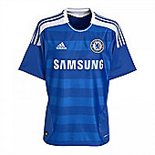 2011-12 Chelsea Adidas Home Football Shirt - Blue