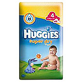 Huggies Super Dry 4 Economy Pack 52 Nappies