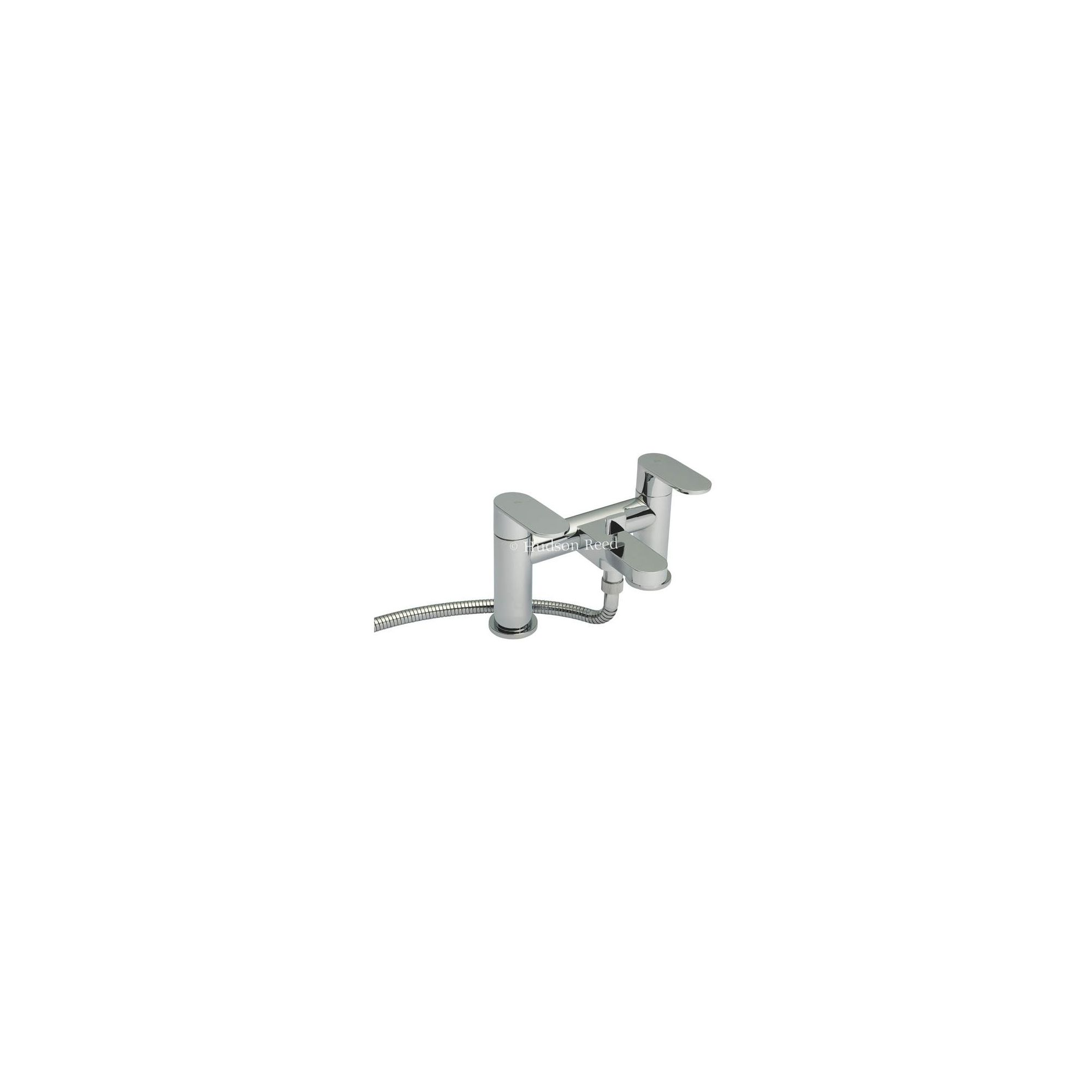 Hudson Reed Cloud 9 Bath Shower Mixer Tap with Shower Kit and Wall Bracket at Tescos Direct