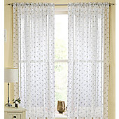 Rheims Rod Pocket Voile Panel - Beige
