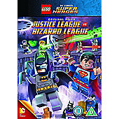 Lego: Justice League Vs Bizarro League DVD