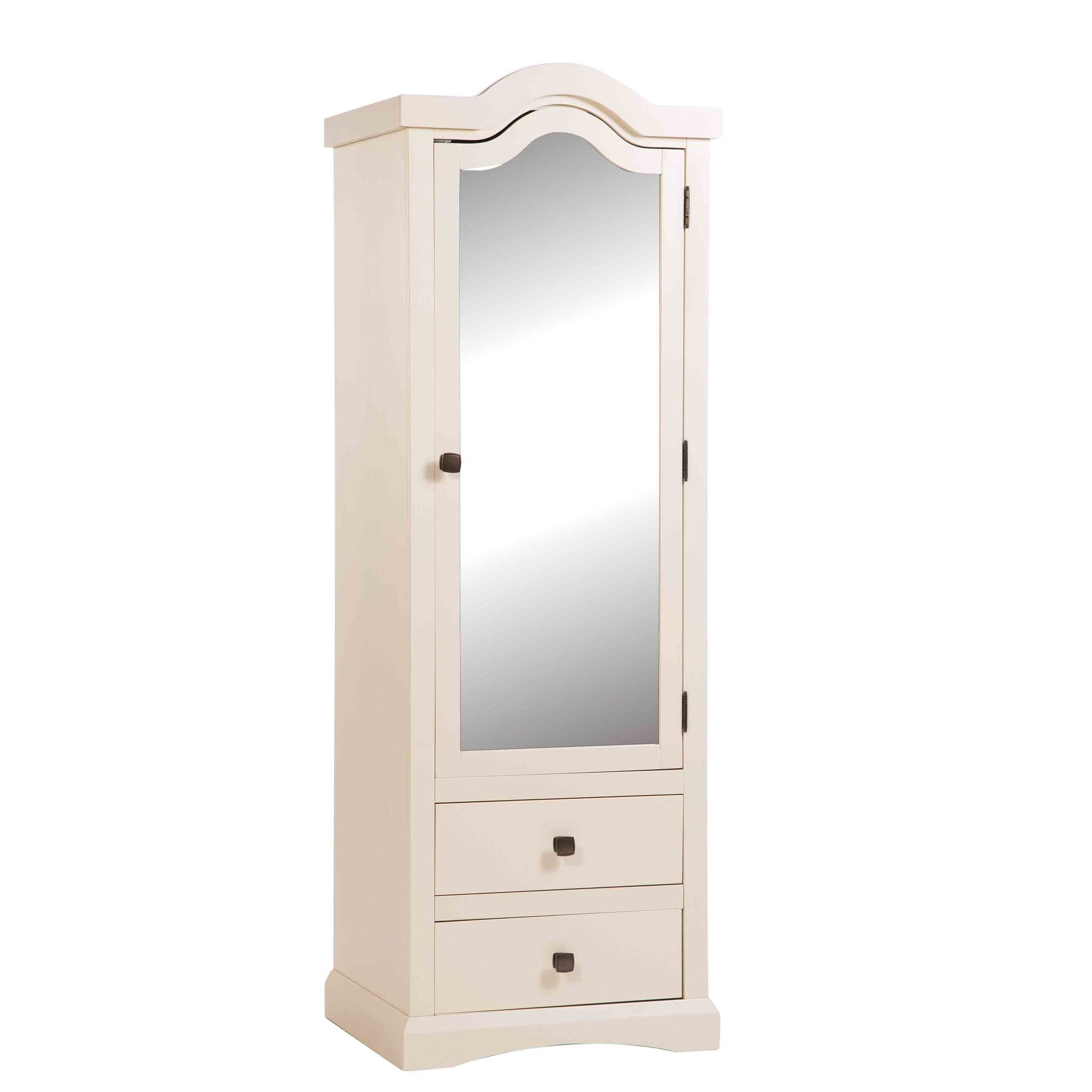 Home Essence Quebec 1 Mirrored Door with 2 Drawer Wardrobe at Tesco Direct