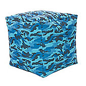 Kaikoo In / Out Cube Chair - Camo Blue